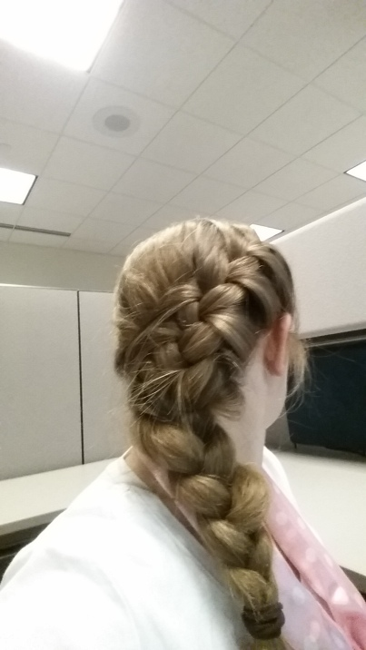French Fishtail Braid with tutorial on Pintertesting.com