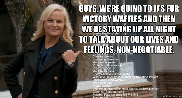 Leslie Knope Victory Waffles